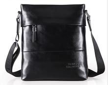 Fashion PU Leather Men's Messenger Bags Man Portfolio Office Bag Quality Travel Shoulder Handbag for Man