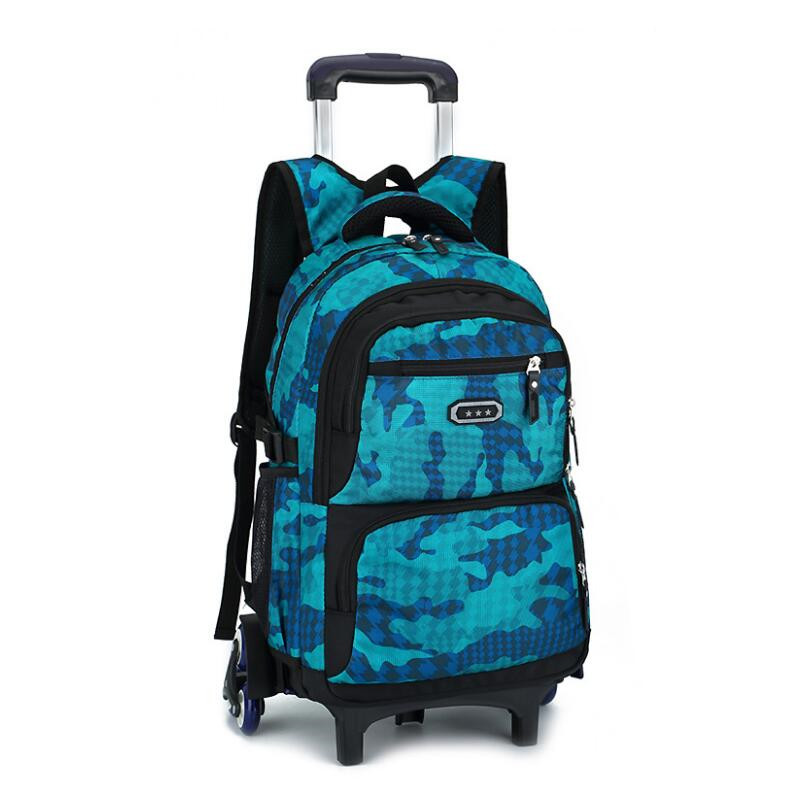 Здесь продается  kids school bag on wheels school backpacks for boys trolley bag girl schoolbag backpack for children boy detachable wheel bag  Камера и Сумки