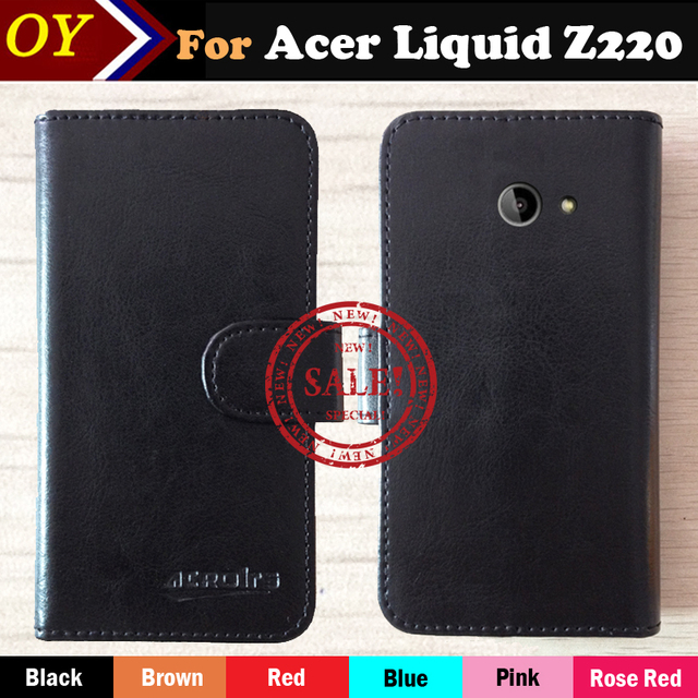 For Acer Liquid Z220 Luxury Stand Wallet Flip Leather Case Phone
