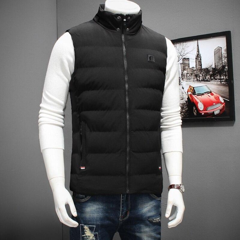 2017 new big size 8XL 7XL 6XLhigh qualit Men's cotton vest winter Men's fashion hooded vest casual warm Large size men's jackets - 3