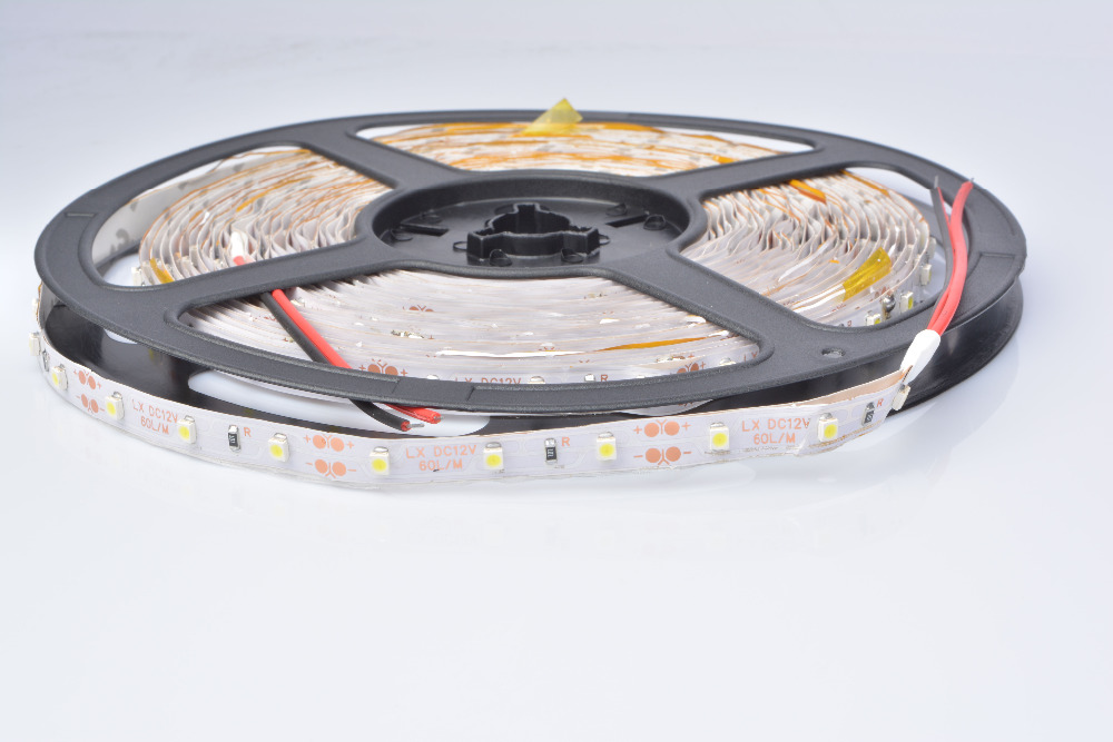 lowest price 599b6 35034 10 meter Free shipping 60 led/m 12V DC 3528 led strip, 5m*2 ...