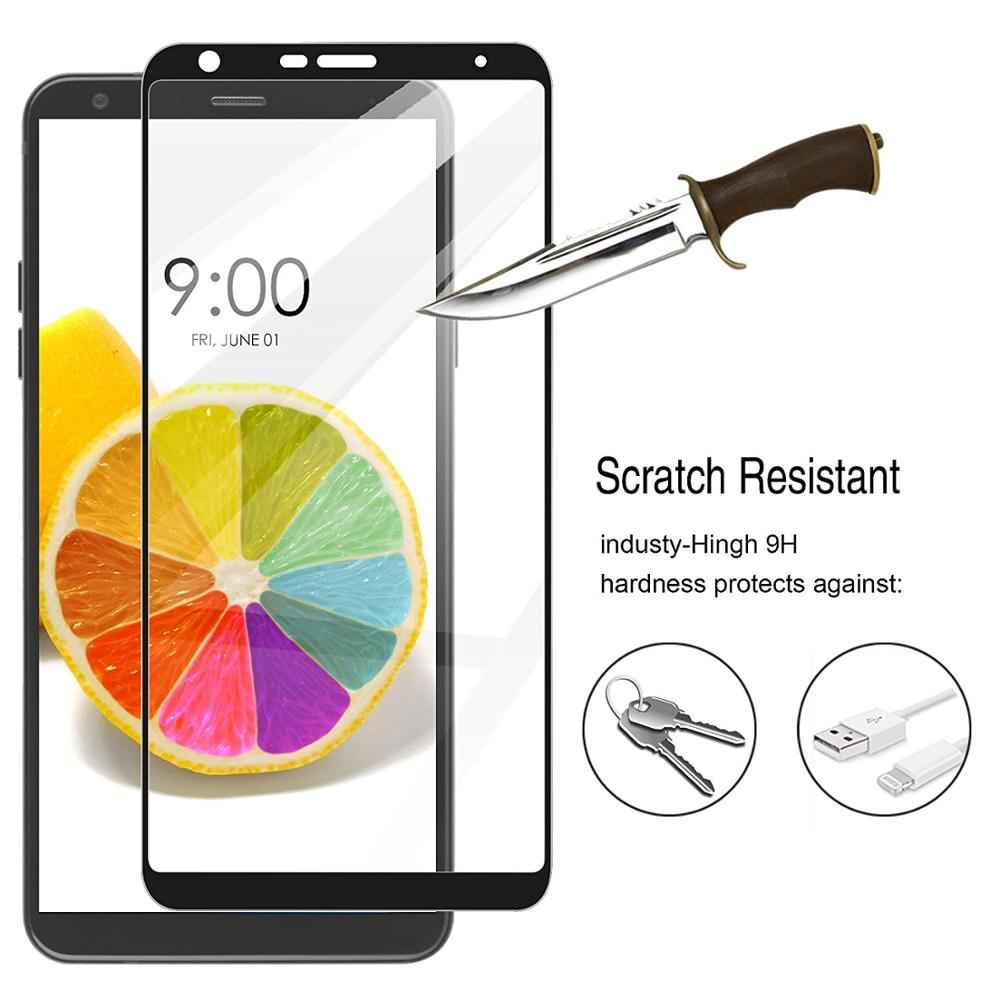 3D Full Cover Screen Protector For LG Stylo 4 5 Tempered Glass For LG Q Stylo 4 LG Q Stylus LM-Q710MS Glass Protective Film