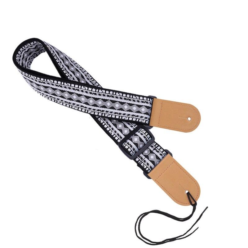 P&P Guitarra acústica Correa Diseño personal Estilo de bordado - Instrumentos musicales - foto 1