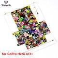 Высокое качество Цветной Рисунок Go Pro Наклейку Тела Cam стикер Для Gopro Hero 3 + Голый Машина Мультфильм Наклейки GP140