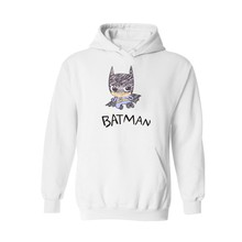 4xl-xxs Plus size Fashion Batman Hooded Sweatshirt Outerwear in Black Mens cotton Hoodies Hip Hop Street Wear Style Boys