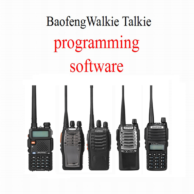 Baofeng Walkie Talkie Programmierung Software Zwei Weg Radio Software Ein Modell Ein Software Für UV 5R BF 888S UV 8D UV 82 BF A5 ETC