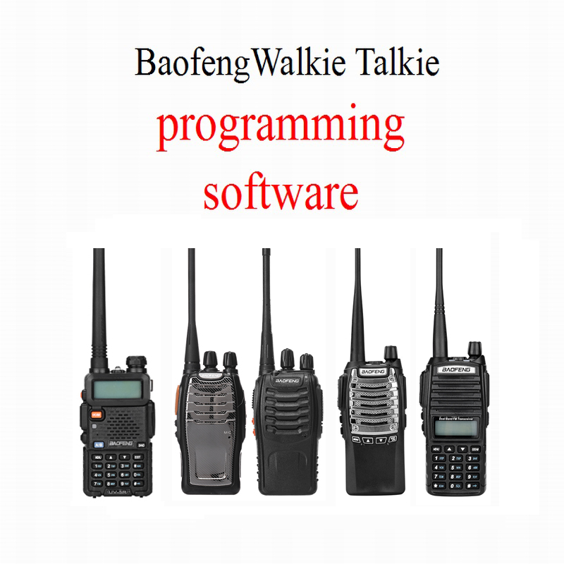 Baofeng Walkie Talkie Programming Software Two Way Radio One Model For UV-5R BF-888S UV-8D UV-82 BF-A5 ETC