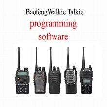 Logiciel de programmation Baofeng talkie walkie logiciel de Radio bidirectionnel un logiciel modèle un pour UV 5R BF 888S UV 8D UV 82 BF A5 ETC.