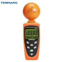 Tenmars 3 ACHSEN EMF RF Strahlung ElectroSmog Leistungsmesser Tester TM 195-in Elektromagnetische Strahlungsdetektoren aus Werkzeug bei