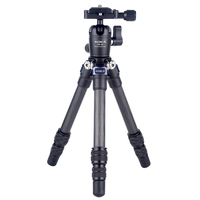 AOKA CMP163C 290g max loading 3kgs lightweight table mobile DSLR carbon fiber mini tripod for camera phone