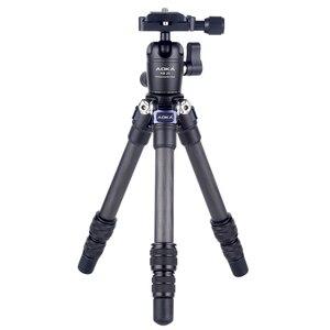 Image 1 - AOKA CMP163C 496g max loading 3kgs lightweight table mobile DSLR carbon fiber mini tripod for camera phone
