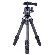 أوكا CMP163C 496g ماكس تحميل 3kgs خفيفة الوزن الجدول المحمول DSLR ألياف الكربون ترايبود صغير للكاميرا الهاتف