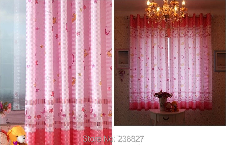XinHuaEase Short Curtains for the Living Room Child Bedroom Modern ...