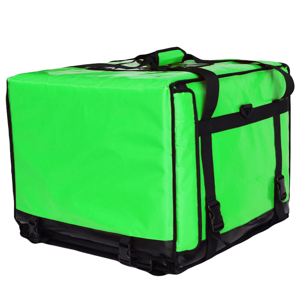 20 L x 20 W x 16 H  Motorcycle 2-Way Zipper Closure SZ-555545 Light Green Color Big Pizza Delivery Bag 20 L x 20 W x 16 H  Motorcycle 2-Way Zipper Closure SZ-555545 Light Green Color Big Pizza Delivery Bag