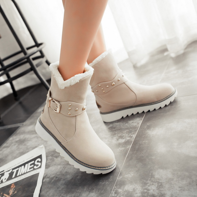 Aliexpress.com : Buy 2016 warm faux fur waterproof snow boots