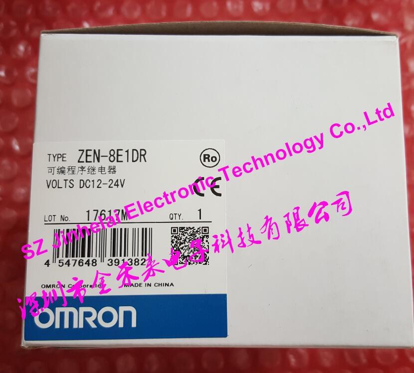все цены на 100%New and original  ZEN-8E1DR  OMRON Programmable relay  DC12-24V онлайн