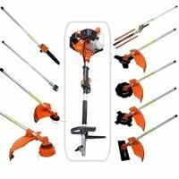 Multi 52CC 2 strokes 9 in 1 Multi brush cutter grass trimmer lawn mower tree pruner tool garden work