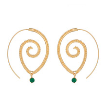 HOMOD Luxury Champagne Gold Flower Stud Earrings with Zircon Stone Women Birthday Gift Bijouterie Drop Shipping недорого