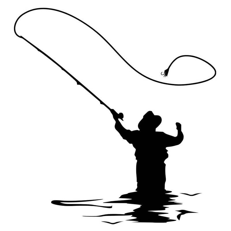 картинки рыбалка трафарет готовы тому