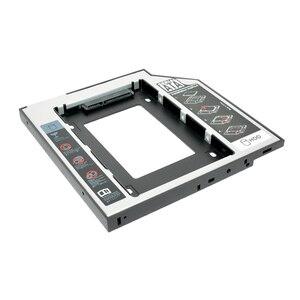 "Sunvalley Optibay 2nd HDD Caddy 9,5 мм алюминиевый Универсальный SATA 3,0 2,5 ""SSD чехол адаптер жесткого диска DVD HDD для ноутбука ODD"
