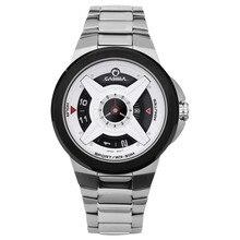 men's watch stainless steel quartz watch Fashion Casual Simple Wrist watches waterproof 50m clock CASIMA # 8208