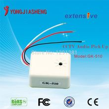 High-Sensitivity Sound Monitor Wide Range CCTV Audio Clear Sound Pickup Microphone for CCTV System