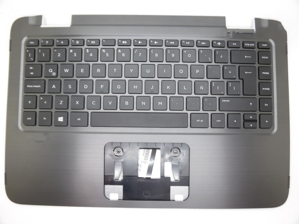 Laptop PalmRest&keyboard For HP 13-A000 LA Latin Standard EAY62004010 SG-62230-29A SN6137 757823-161 black in 95% new the new english for sony vpcsb18ga vpcsb18gg vpcsb18gh keyboard black silver laptop keyboard