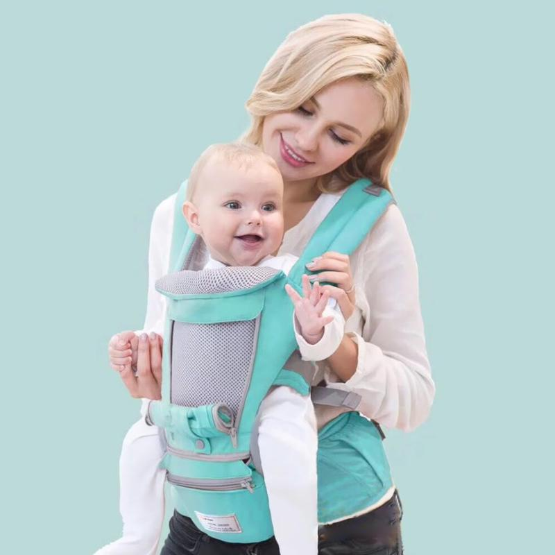 0-36 Months Ergonomic Baby Carrier Infant Kid Baby Hipseat Sling Front Facing Kangaroo Baby Wrap Carrier For Baby Travel Wrap
