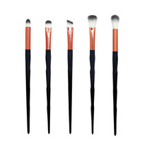 5PCS Makeup Brushes set Eyebrow Eyeliner Cosmetic Concealer professional Black Brushes brochas para maquillaje pincel maquiagem(China)
