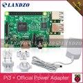 LANDZO raspberry pi 3 modelo b/raspberry pi/framboesa/pi3 b/pi e 5.1 V 2.5A Adaptador de Alimentação para Raspberry Pi Modelo B