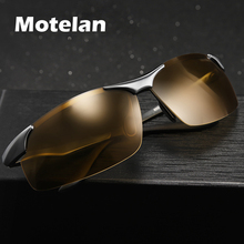 2019 Day Night Photochromic Polarized Sunglasses Mens Sunglasses for Drivers Male Safety Driving Fishing UV400 Sun Glasses