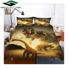 GOANG bedding set 3d bed sheet duvet cover pillow Reactive Printing Animal dinosaurs king size Home textile hot sell