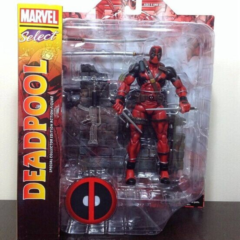 Movie X-Men Deadpool Action Figure Toys PVC Collective Model Toys Best Gift 18cm With Box Free Shipping vezzano