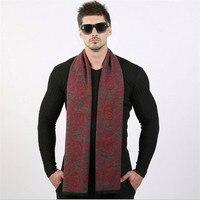 Fashion Winter Men Scarf Luxury Designer Classic Business Warm Scarves Soft Shawls Wrap Bandana Sjaal Foulard