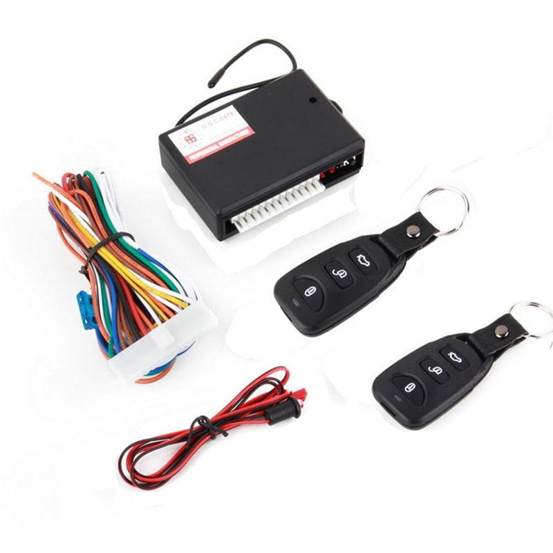 Kit Central remoto Universal para coche, sistema de entrada sin llave y bloqueo de puerta para vehículo nuevo