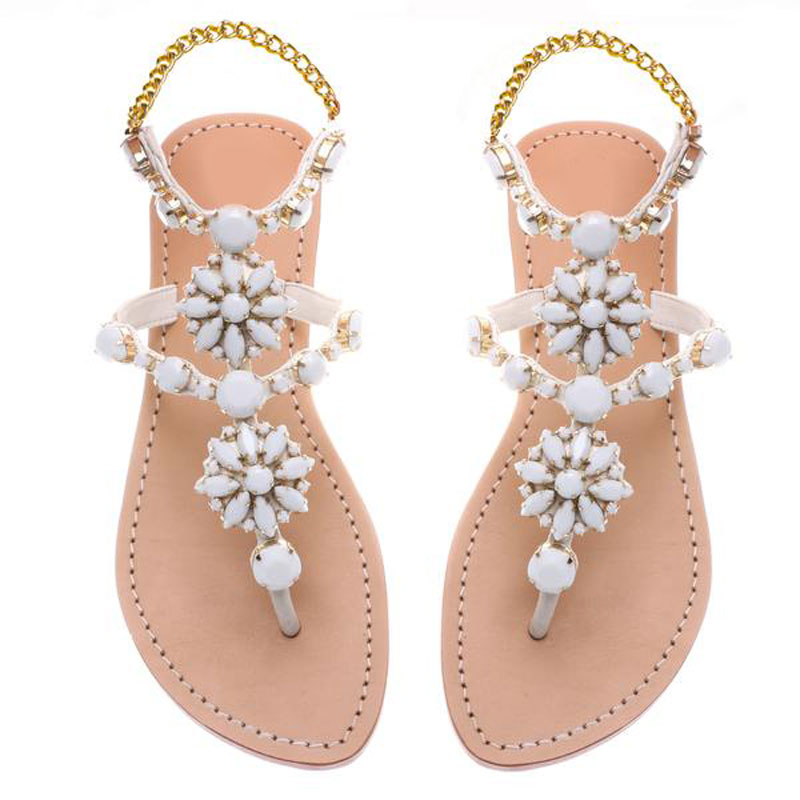 women shoes Women sandals comfort flat sandals 2018 summer fashion beach sandals Gladiator Flat Sandals Plus Size цена и фото