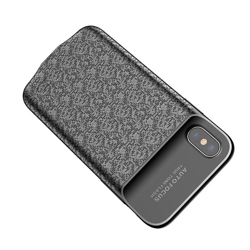 Baseus Battery Charger Case For iPhone X case 3500mAh Power Bank Case Ultra Slim External Backup Battery Case Cover in Battery Charger Cases from Cellphones Telecommunications