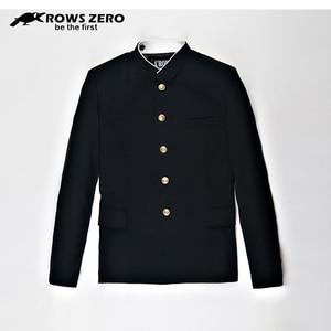 Image 2 - Free Shipping New Japanese senior middle school uniform male mens Suzura slim blazer chinese tunic jacket top Korean coat