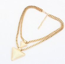 Triangular Geometry Double Necklace