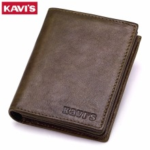 KAVIS New Genuine Leather Men Wallets Vintage Coin Purse Luxury Brand Bifold PORTFOLIO Rfid Fashion Magic Vallet Male Cuzdan -in Wallets from Luggage & Bags on Aliexpress.com | Alibaba Group