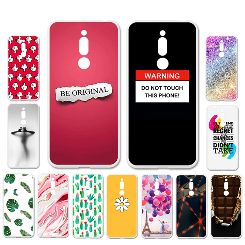 Ojeleye DIY Patterned Silicon Case For Meizu M6T Case Soft TPU Cartoon Phone Cover For Meizu M6T Covers Bags Anti-knock Shell