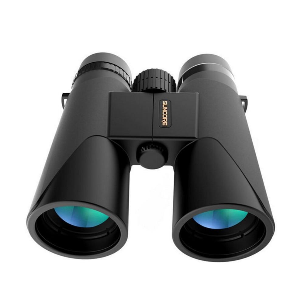 SUNCORE 12X42 Zoom HD Binocular Telescope BAK4 Prism Non infrared Spotting Scope Waterproof Outdoor Telescope Drop