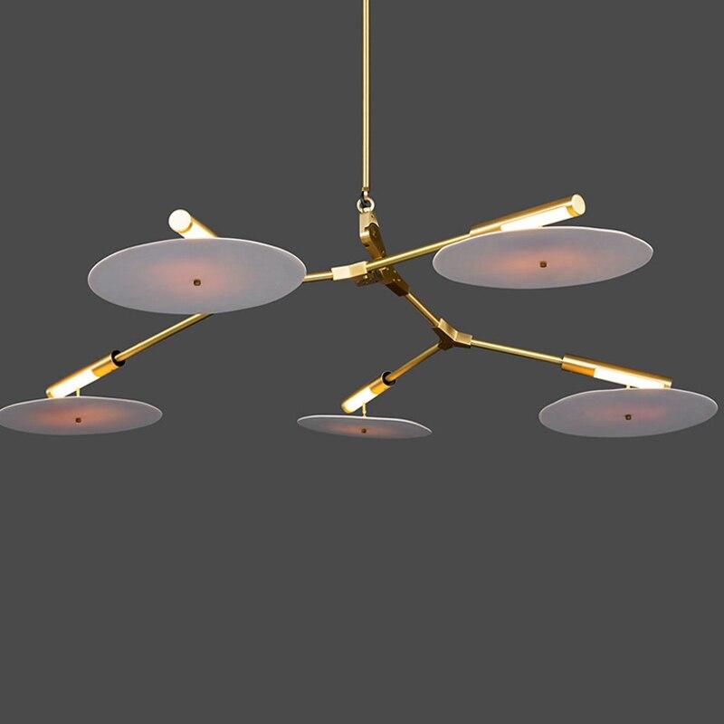 Small Pendant Lights tree leaf vintage LED Lamps Fixturesfrom suspension lamp Home lighting Fixture led pendant lamp G4 gold