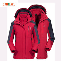 New Men Women Ski Jackets Brands Outdoor Warm Snowboard Jacket Coat Male Waterproof Snow Jacket Man
