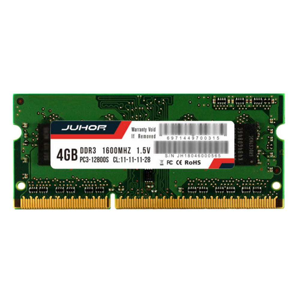 4GB <font><b>8GB</b></font> PC3-12800 <font><b>DDR3</b></font>-1600MHz 204Pin 1.6V <font><b>SODIMM</b></font> Laptop Memory RAM image
