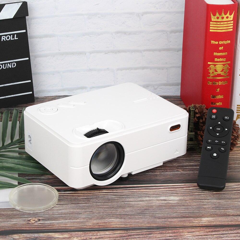 Image 5 - Rigal мини проектор RD813 2000 люмен светодиодный WiFi Android 6,0 проектор 3D проектор Поддержка HD 1080P портативный домашний кинотеатр-in Проекторы для домашнего кинотеатра from Бытовая электроника