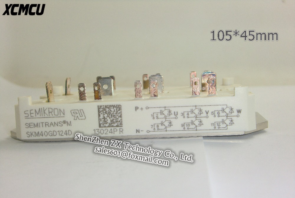 1pcs/lot Original In-kind shooting SKM40GD124D SKM 40 GD 124 D SEMIKRON MODULE In stock bmv 3 gt в германии
