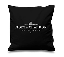 Black Velvet Pillow Print Pillow Case Cotton Made Pillowcase Soft Black Cushion Cover 45X45cm 55X55cm(China)