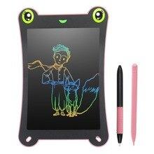 NEWYES 8,5 дюймовый цветной экран ЖК-планшет для письма электронный цифровой рисунок блокнот для рукописного ввода Безбумажная доска для сообщений детская головоломка