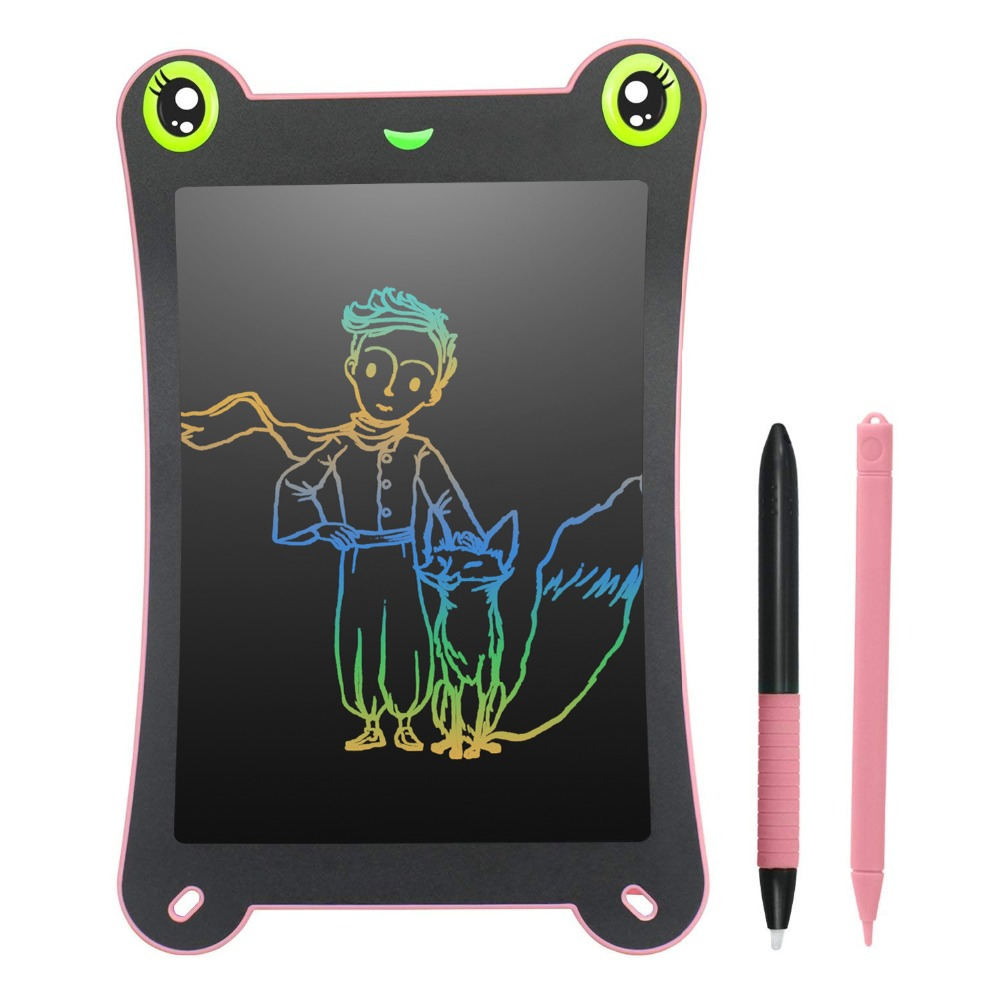 NEWYES 8.5inch Colorful Screen LCD Writing Tablet Electronic Digital Drawing Handwriting Pad Paperless Message Board Kids Puzzle